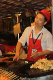 Peking-Nachtmarkt Lizenzfreie Stockfotos
