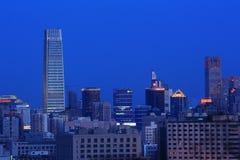 Peking-Nachtszene Stockfoto