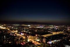 Peking-Nachtszene lizenzfreie stockfotografie