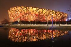 Peking-olympisches Stadion Stockbild