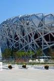 Peking-olympisches Stadion Stockbilder