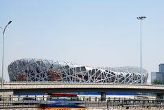 Peking-olympisches Stadion Lizenzfreie Stockfotografie