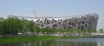 Peking-olympisches Stadion Lizenzfreies Stockfoto