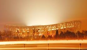 Peking-olympisches Stadion Lizenzfreie Stockbilder