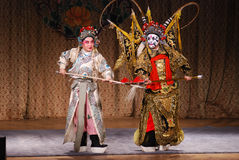Peking-Oper Lizenzfreie Stockfotos