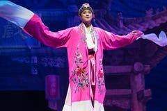 Peking-Oper Schauspieler-akrobatische showBaixi Traum-Nacht Stockbilder