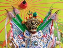 Peking Opera. Puppets remaining Peking opera characters Royalty Free Stock Photo