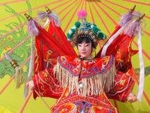 Peking Opera. Puppets remaining Peking opera characters Royalty Free Stock Image