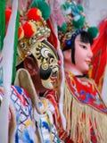 Peking Opera. Puppets remaining Peking opera characters Royalty Free Stock Photos