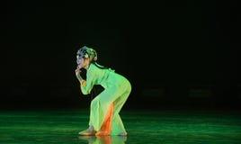 Peking Opera actress-The national folk dance Stock Images