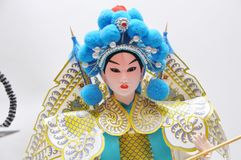 Peking opera characters Royalty Free Stock Image