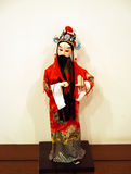 Peking Opera doll Royalty Free Stock Photos