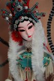 Peking Opera doll Stock Images