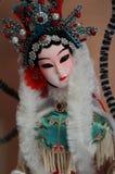 Peking Opera doll. Beautiful peking opera doll close up Stock Images