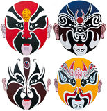 Peking Opera Mask Stock Image