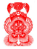Peking Opera papercut Stock Images
