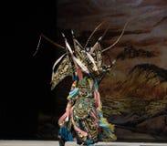 Peking opera style Stock Photo