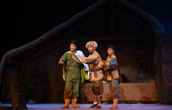 """Peking opera """"Taking Tygrysiego Montain Strategy† Zdjęcie Royalty Free"""