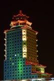 Peking Palace tower in Astana / Kazakhstan Royalty Free Stock Images