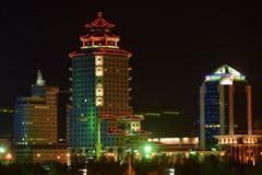 Peking Palace tower in Astana / Kazakhstan Stock Image