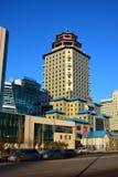 Peking Palace tower in Astana / Kazakhstan Royalty Free Stock Photography