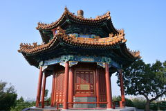 Peking-Parkpavillon in Asien Stockfotografie
