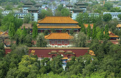Peking (Peking), China â Sommer-Palast lizenzfreie stockfotos