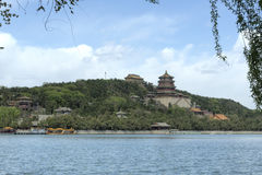 Peking (Peking), China â Sommer-Palast Stockfoto