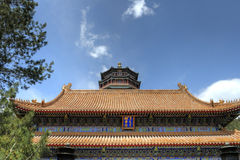 Peking (Peking), China â Sommer-Palast stockfotos