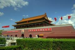 Peking (Peking), China â Verboden Stad stock foto