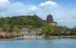 Peking (Peking), het Paleis van de Zomer van China â royalty-vrije stock foto
