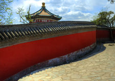 Peking (Peking), het Paleis van de Zomer van China â royalty-vrije stock afbeelding