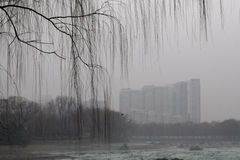 Peking-Regierung startete Großalarm Stockfoto