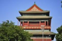 Peking-Reise ï ¼ zentraler MittellinieTrommel Kontrollturm Stockfoto