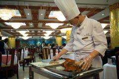 Peking roast duck Stock Photo