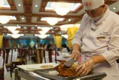 Peking roast duck Royalty Free Stock Image