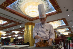 Peking roast duck Royalty Free Stock Photos