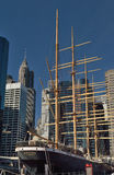 Peking-Segelschiff, New York City Lizenzfreies Stockbild