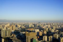 Peking-Skyline Stockbilder
