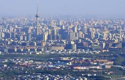 Peking-Skyline Stockbilder