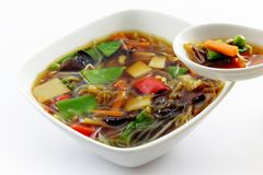 Peking soup Royalty Free Stock Photos