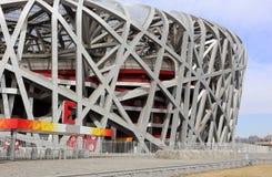 Peking-Staatsangehörig-Stadion Stockfotografie