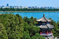 Peking Stadtbild-D Sommer-Palace See lizenzfreies stockbild