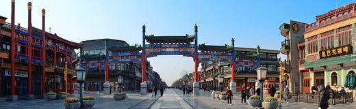 Peking-Straße Stockbilder