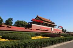 Peking tiananmen Royalty-vrije Stock Afbeeldingen