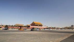 Peking Tiananmen Stock Afbeelding