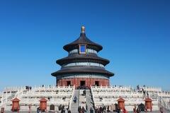 Peking Tiantan parkerar templet Royaltyfri Bild