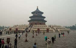Peking Tiantan royaltyfri bild