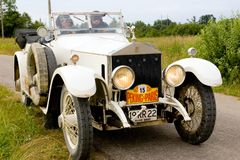 Peking to Paris, Rolls Royce Silver Ghost Royalty Free Stock Image