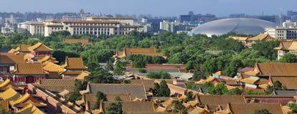 Peking Verboden stad royalty-vrije stock foto's